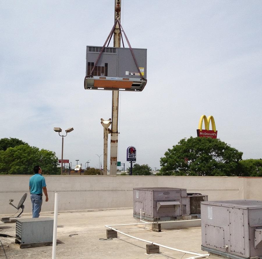 Crane use in Austin