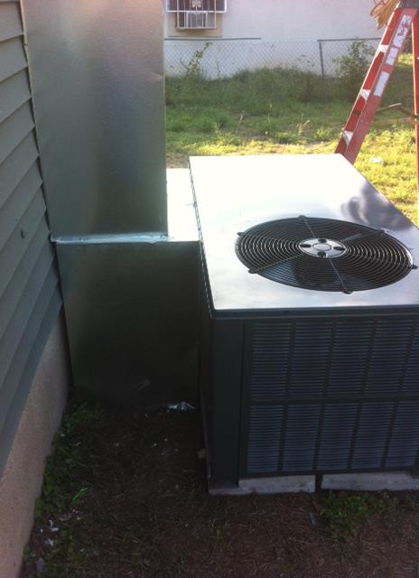 HVAC Flashing